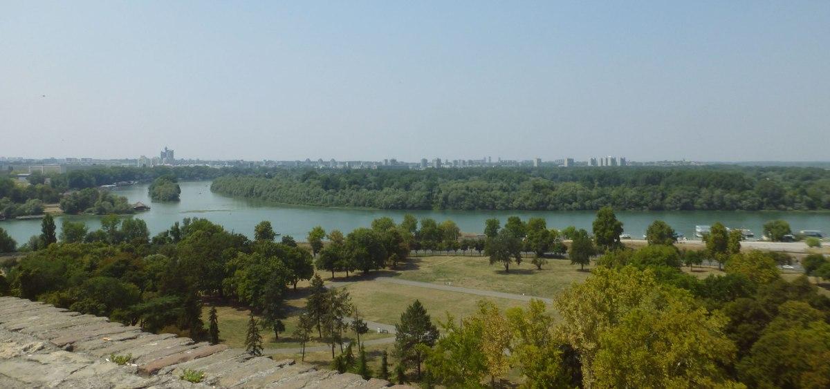 A hot walk in Belgrade