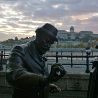 The statues of Budapest